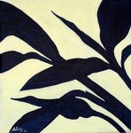 Alpinia zerumbet, 20 x 20 cm, 2021