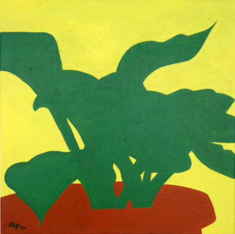 Hosta, 40 x 40 cm, 2020