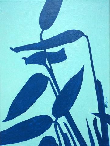Thalia Dealbata, 30 x 40 cm, 2020