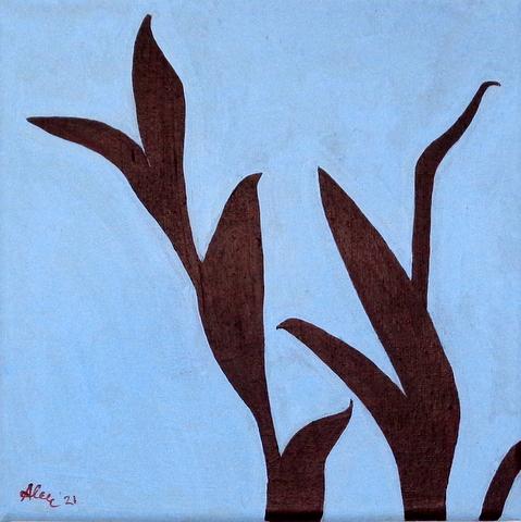Tradescatia, 20 x 20 cm, 2021