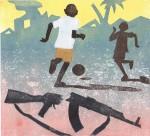 Ishmael, een kind als soldaat, uit: Nu of ooit...(Stempels)