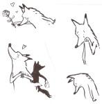 Wolf, uit: Inkt